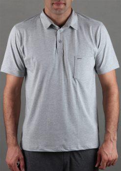 تی شرت یقه لاسگنه مردانه