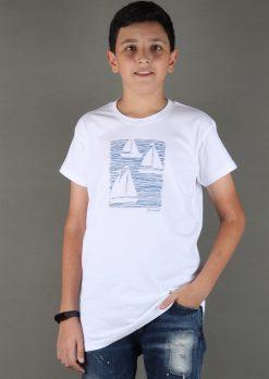 تی شرت پسرانه چاپدار،لباس راحتی