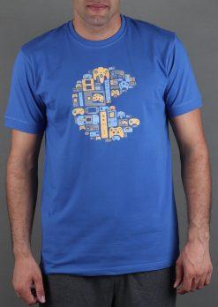 تی شرت یقه گرد مردانه چاپ پلی استیشن
