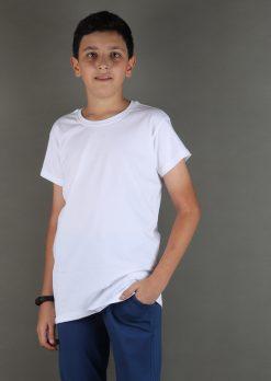 تی شرت پسرانه یقه گرد بیسیک،لباس راحتی